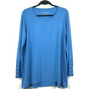 Soft Surroundings Quintessential Long Sleeve Top